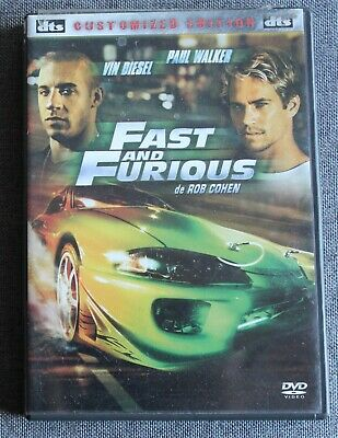 Fast and Furious - Vin Diesel - Paul Walker, DVD