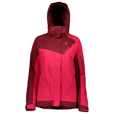 NEW SCOTT Women's Ultimate Dryo 20 Jacket | Pink / Red Size SM | NEW 261811