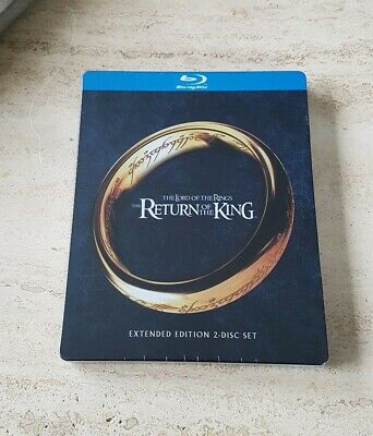 Herr Der Ringe Lord Of The Rings Limited Edition Blu-Ray Steelbook Blu Ray