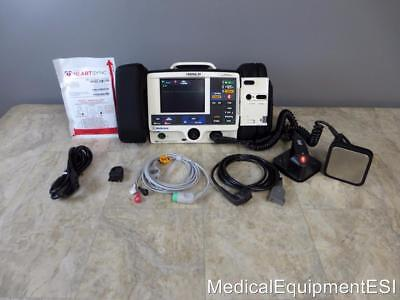 Physio Control Lifepak 20 Biphasic 3 Lead AED, Pacing with Paddles and Pads