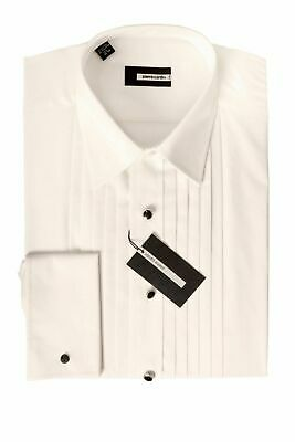 PIERRE CARDIN White wing winged tip collar shirt Wedding formal evening wear New