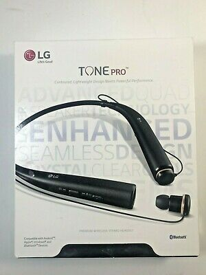 LG Tone Pro HBS-780 Premium Wireless Stereo Bluetooth Headset Authentic-Black