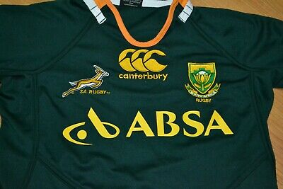 a6da7ec815e 2013-14 South Africa Springboks Rugby Jersey Shirt Canterbury Youth 14 Nice  SA
