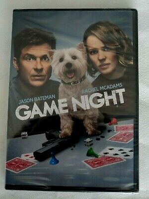 GAME NIGHT (DVD, 2018) brand new and sealed free shipping