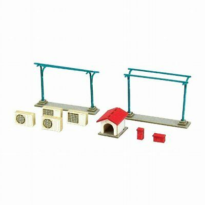 Sankei N Scale MP04-80 Japan House Accesaries A 1/150 Paper Craft