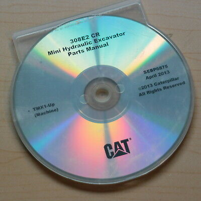 CAT CATERPILLAR 308C CR Excavator Parts Manual Book Catalog spare