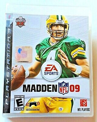 PS4 Madden NFL 09 Sony PlayStation 3 EA Sports 2008 Rated E Sealed