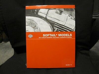 Genuine OEM 2013 Harley Softail Electrical Diagnostics Manual 99498-13