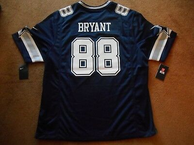 Authentic Nike OnField  88 Dez Bryant Dallas Cowboys Football Jersey Men  2XL NEW 1f1fde44a