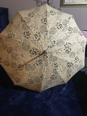 Antique Vintage Orential Umbrella