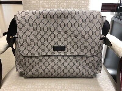 5b62718d49d GUCCI BABY Diaper Bag 100% Authentic Slightly Used     -  480.00 ...