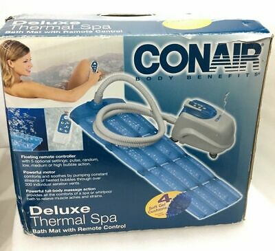 Brand New Conair Mbts4m Deluxe Soft Cushion Thermal Bath Spa