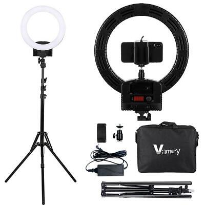 12 Inch LED Ring Light Dimmable with Light Stand Kits for Makeup Phone Live