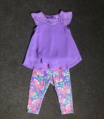 : Guess : Baby Girls Toddler OutFit. Size 18 Months. VGUC. Free Postage