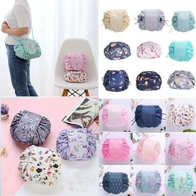 Toiletry Cosmetic Bag Lazy Makeup Bag Quick Pack Travel Drawstring Storage Bags