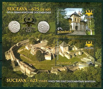 2013 Suceava Royal Fortress,Silver Coins,St.George Church,Münze,Romania,560,MNH