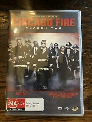 Chicago Fire : Season 2 (DVD, 2014, 6-Disc Set) - Very Good Condition - PAL reg