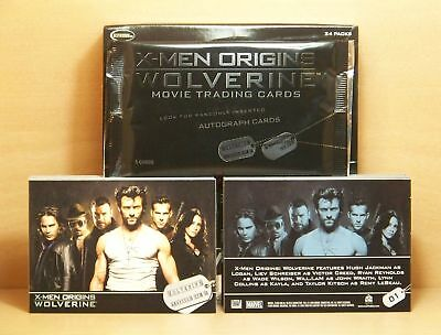 2009 X-Men Origins Wolverine Movie complete 72 card base set