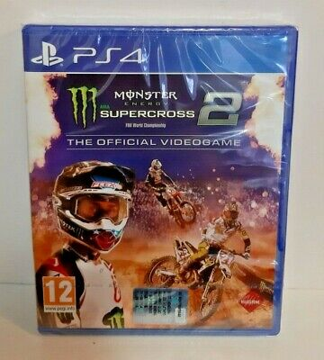 Monster Energy Supercross 2 PS4 NUOVO ITA