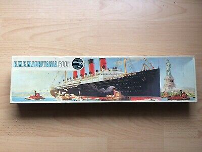 Airfix R.M.S Mauretania 1/600 Scale Model Kit vintage