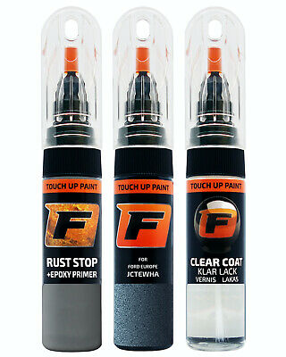 Touch up paint for FORD | CHROME BLUE | JCTEWHA 7411 | Kit Pen