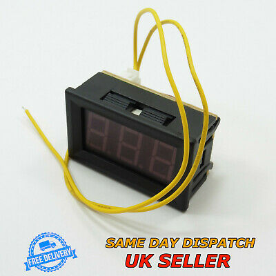 "70-300V AC 0.56"" Voltmeter LED Two Wires Digital 220V 230V 240V 110V Self Power"