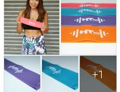 Set of 4 Resistance Exercise Bands (HT FiiT) #glutes🍑 #weightloss #fitness