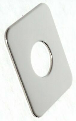 switch plate blank unmarked plain stainless steel for Freightliner