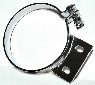 """exhaust stack 6"""" mount bracket clamp chrome for 379 359 Peterbilt 1987-1993"""