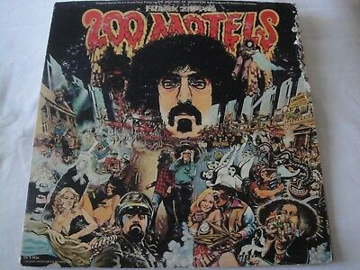Frank Zappa 200 Motels 2X Vinyl Lp Album 1971 United Artists Records W/booklet