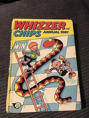 Whizzer and Chips 1981 - Vintage Annual - unclipped