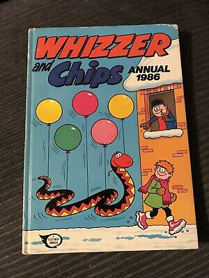 Whizzer and Chips 1986 - Vintage Annual - unclipped