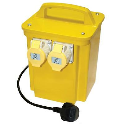 NEW 3.3 KVA Site Transformer 110V Twin Outlet 16 AMP