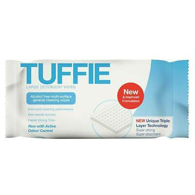 Tuffie Large Detergent Wipes - 100 Pack