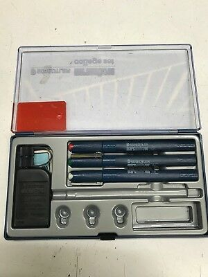 SET 3 PENNA A CHINA STAEDTLER MARSMATIC 700 NUOVA IN SCATOLA ORIGINALE guarda