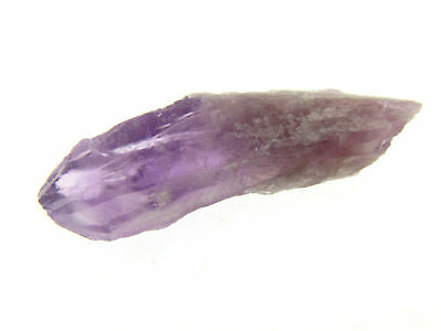 "Amethyst Elestial Natural Point Wand 2.25"" New Find Minas Gerais Brazil"
