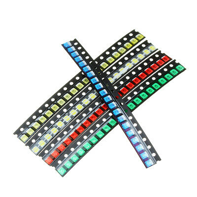 300Pcs 5 Colors 60 Each 1210 LED Diode Assortment SMD LED Diode