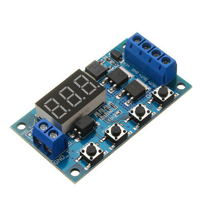 XY-J04 DC 5V-36V Trigger Cycle Timer Delay Switch Circuit  Doubled