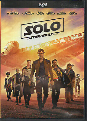 """""""SOLO"""" A Star Wars Story (DVD) Used"""