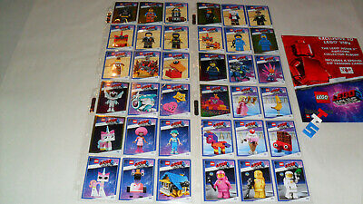 Choice Of 36 Lego Movie 2 Trading Cards Any One To Complete Your Set