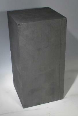 "Nuclear Graphite Block TSX NCCo 6 x 6 x 11 ¾"" 26 Pounds"
