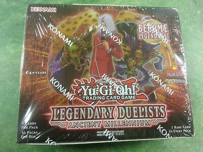 Yu-Gi-Oh Legendary Duelists Ancient Millenium Booster Box - New