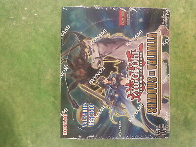 Yu-Gi-Oh Shadows In Valhalla Booster Box - New