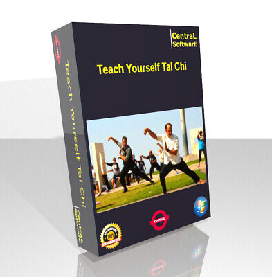 Teach Yourself Learn Tai Chi DVD Relax Exercise Health Fitness Free Audio CD UK