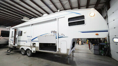 2003 Cougar 285 Efs Rear Living 5Th Wheel With Slide Out Clean Will Sell Fast