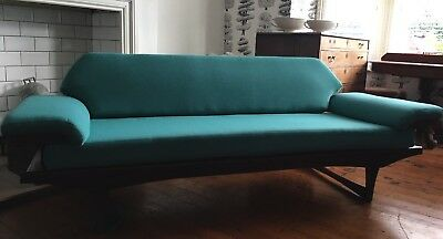 Mid-century Retro Vintage Toothill Day Bed  Sofa - Eames Race Danish 1950s 1960s