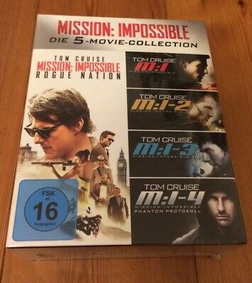 Mission Impossible 1-5 Box - (Blu-ray) / 5 Movie Collection Set OVP