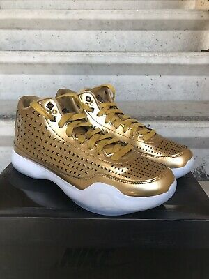 136bbfb075a Nike Kobe X 10 EXT Mid Liquid Gold Basketball Shoes Size 12 Men 802366-700