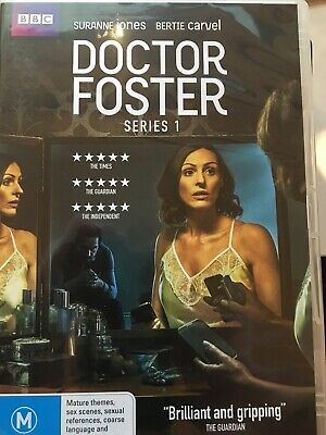 DOCTOR FOSTER - Series 1 2 x DVD Set BBC AS NEW! Complete First Season One