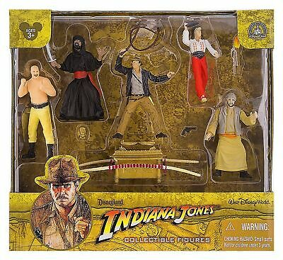 INDIANA JONES Disney World Raiders of the Lost Ark Figure Set PLAYSET